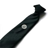家紋ネクタイ 黒