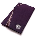 家紋 袱紗 紫