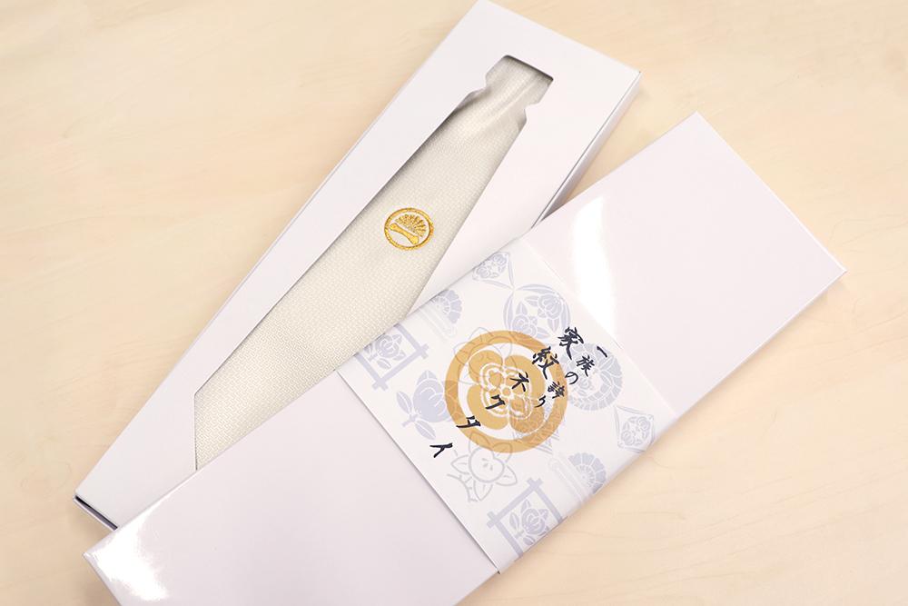 家紋ネクタイの箱