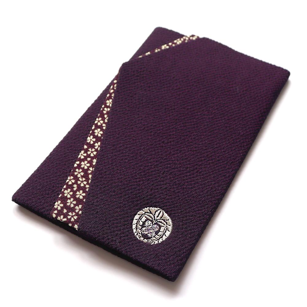 家紋袱紗(紫)