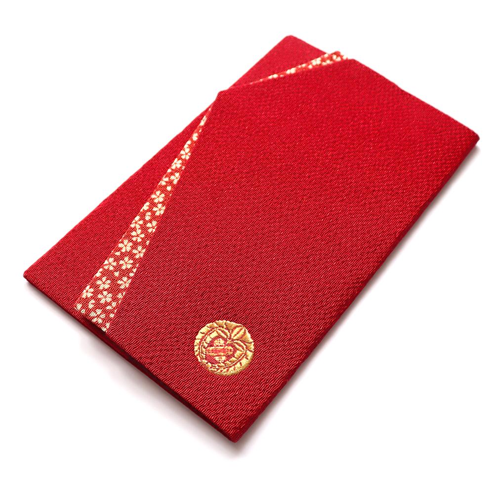 家紋袱紗(赤)