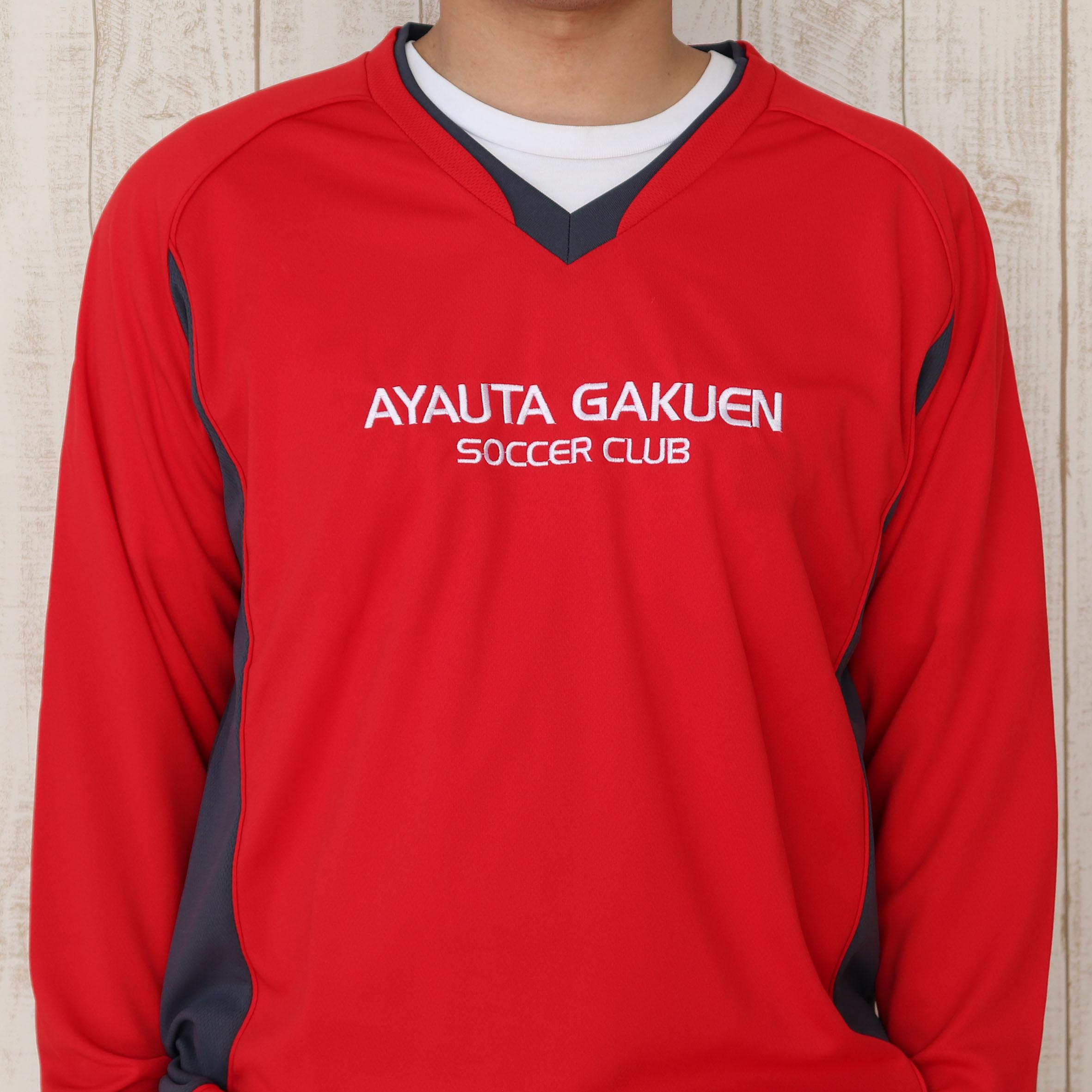 フォント刺繍/ウェア(サッカーシャツ)