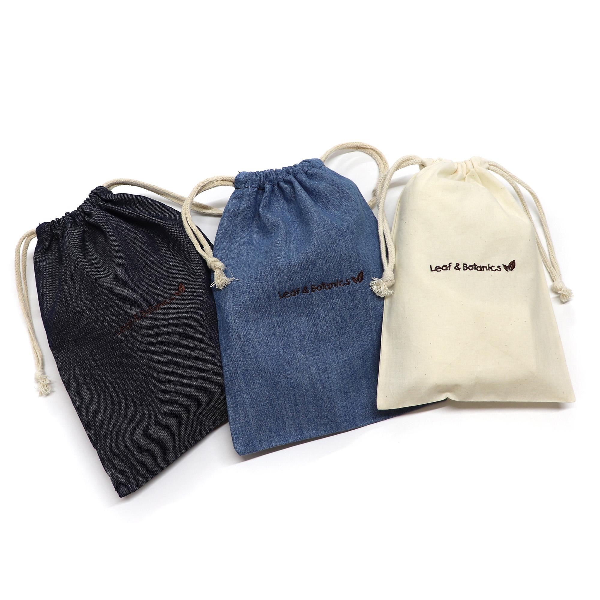 オリジナル刺繍/巾着(ポーチ)